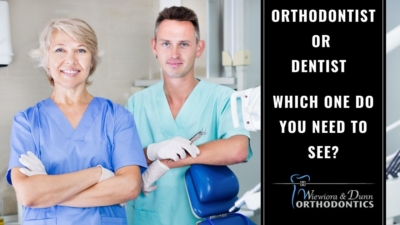 An Orthodontist and a dentist